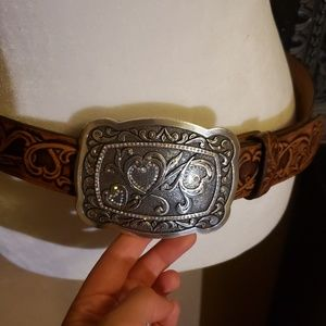 Tony Lama belt/ cowgirl belt